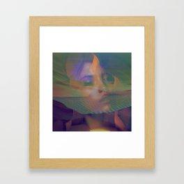 Light Inferno Framed Art Print