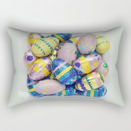 Easter Plate IV Rectangular Pillow