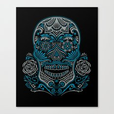 Magic Sugar Skull Canvas Print