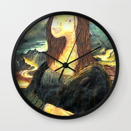 Fisha Lisa Wall Clock