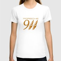 porsche T-shirts featuring Porsche 911 by Barbo's Art