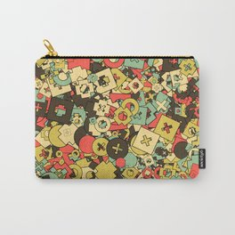 Nineteen Shapes Carry-All Pouch