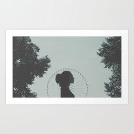 Paris, mon amour. [ 1 ]  Art Print