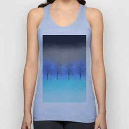 Abstract trees Unisex Tank Top