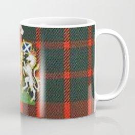 RED & GREEN CAMERON TARTAN ROYAL SCOTLAND Coffee Mug