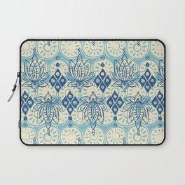 lotus diamond blue Laptop Sleeve