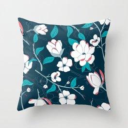 Southern Charm - Manolias Throw Pillow