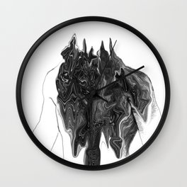 Untitled Portrait Wall Clock