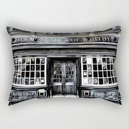 The Prospect Of Whitby Pub Art Rectangular Pillow