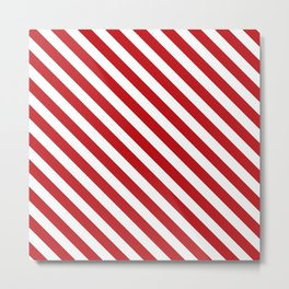 peppermint stick Metal Print