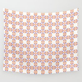 colorful rhombs Wall Tapestry