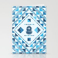diver Stationery Cards featuring Diver by parallelish