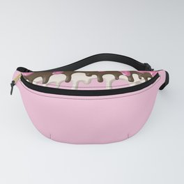 Frosting Drip Design Pattern Fanny Pack