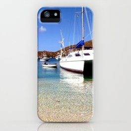 tranquil mooring iPhone Case