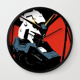 Gundam Rx-93 headbust Wall Clock