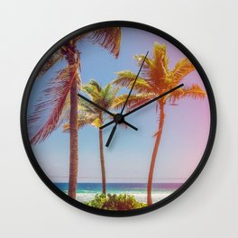 Tropical Breezes Wall Clock