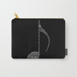 Invert music note Carry-All Pouch