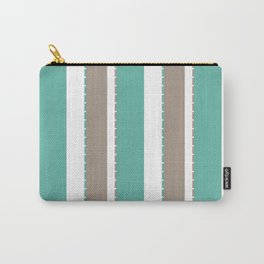 Fancy Striped Carry-All Pouch