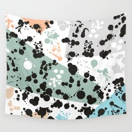 C13D Splatterings3 Wall Tapestry