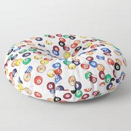 Pool Balls Floor Pillow