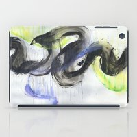 northern lights iPad Cases featuring Northern Lights by amity