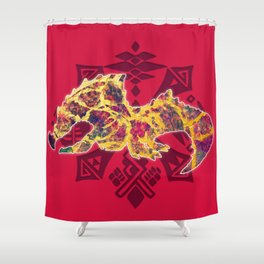 Agnaktor Shower Curtain