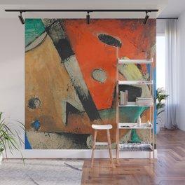 """Franz Marc """"Abstrakte Komposition"""" Wall Mural"""