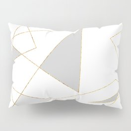 Duo of Triangles Pillow Sham