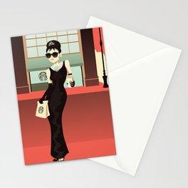 Starbucks at Tiffany's Stationery Cards