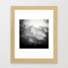 Instasky Framed Art Print