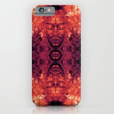 Brother Meditation - red purple iPhone 6s Slim Case