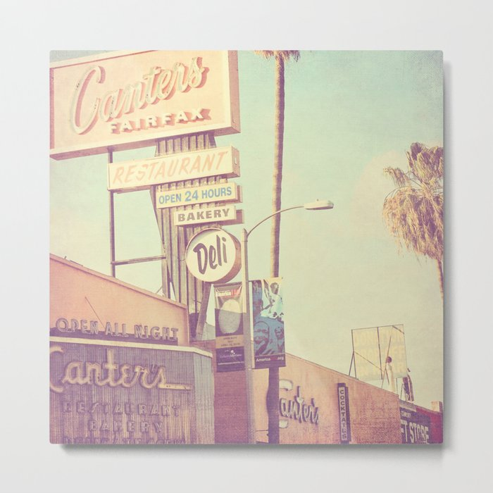 Los Angeles. Canters Deli photograph Metal Print