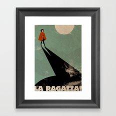 The Girl. Framed Art Print