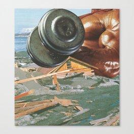 Home Wrecker Canvas Print