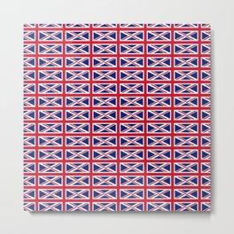 flag of uk 2- London,united kingdom,england,english,british,great britain,Glasgow,scotland,wales Metal Print