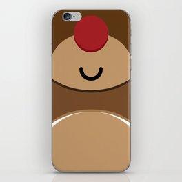 Bear xmas icon iPhone Skin