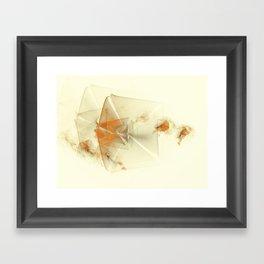Lemon Breeze Framed Art Print