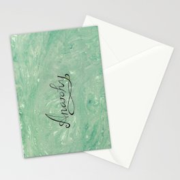 Peaceful Anarchy Stationery Cards