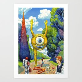 Appointment to the Park Art Print