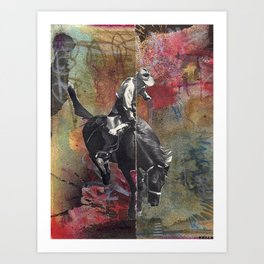 GIDDY UP! Art Print