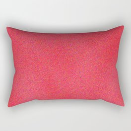 Deep Pink Sparkle Rectangular Pillow