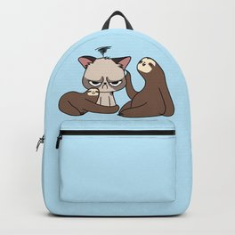 A Hug a Day Keeps the Grumpiness Away Backpack