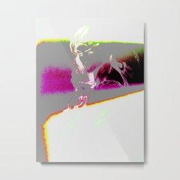 phonePerse Metal Print
