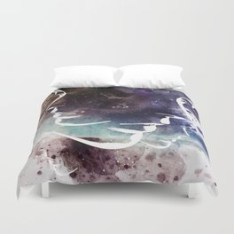 Complicated Feelings Abstract ART Duvet Cover