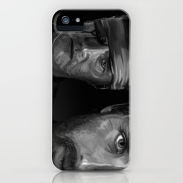 Rick and The Governor iPhone Case