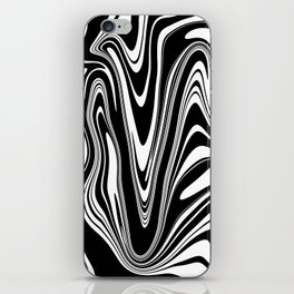 Stripes, distorted 2 iPhone Skin