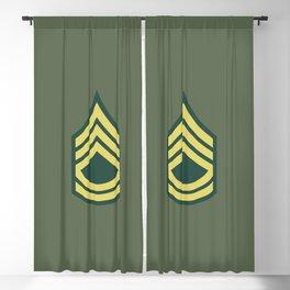 Sergeant First Class (OD Green) Blackout Curtain