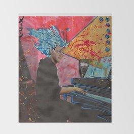 Super Sonata Saiyan Alex Plays Through the New Deluge Throw Blanket