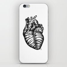 Heart gone wild iPhone & iPod Skin