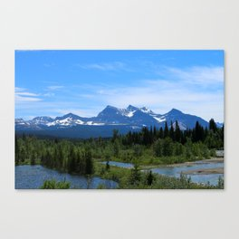 Belly River Canvas Print